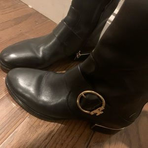 Tory Burch Riding Boots (Size 7, worn once)!